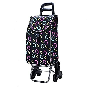 30f8205f7b77 HCC Trolley Dolly Stair Climber Rolling Shopping Cart Multipurpose 6 ...