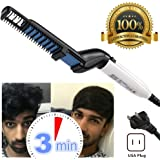 Quick Beard Straightener Comb Hair Styling brush for Men Electric Multifunctional Massage Comb Electric Hair Comb