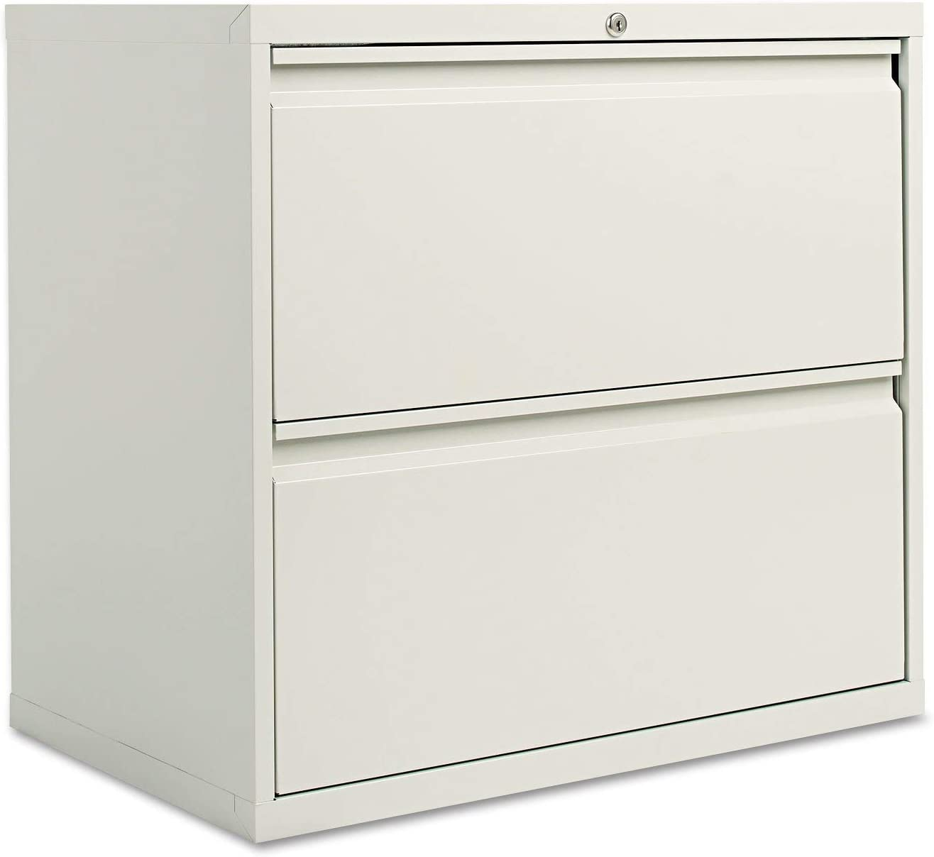 Amazon Com Alera Lf3029lg Two Drawer Lateral File Cabinet 30w X 19 1 4d X 28 3 8h Light Gray Office Products