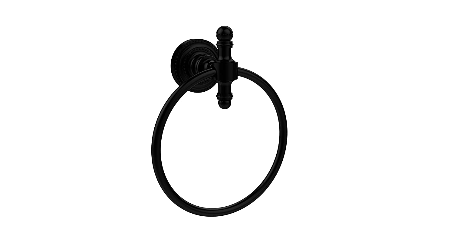 Allied Brass RD-16-VB Retro Dot Collection Towel Ring Venetian Bronze