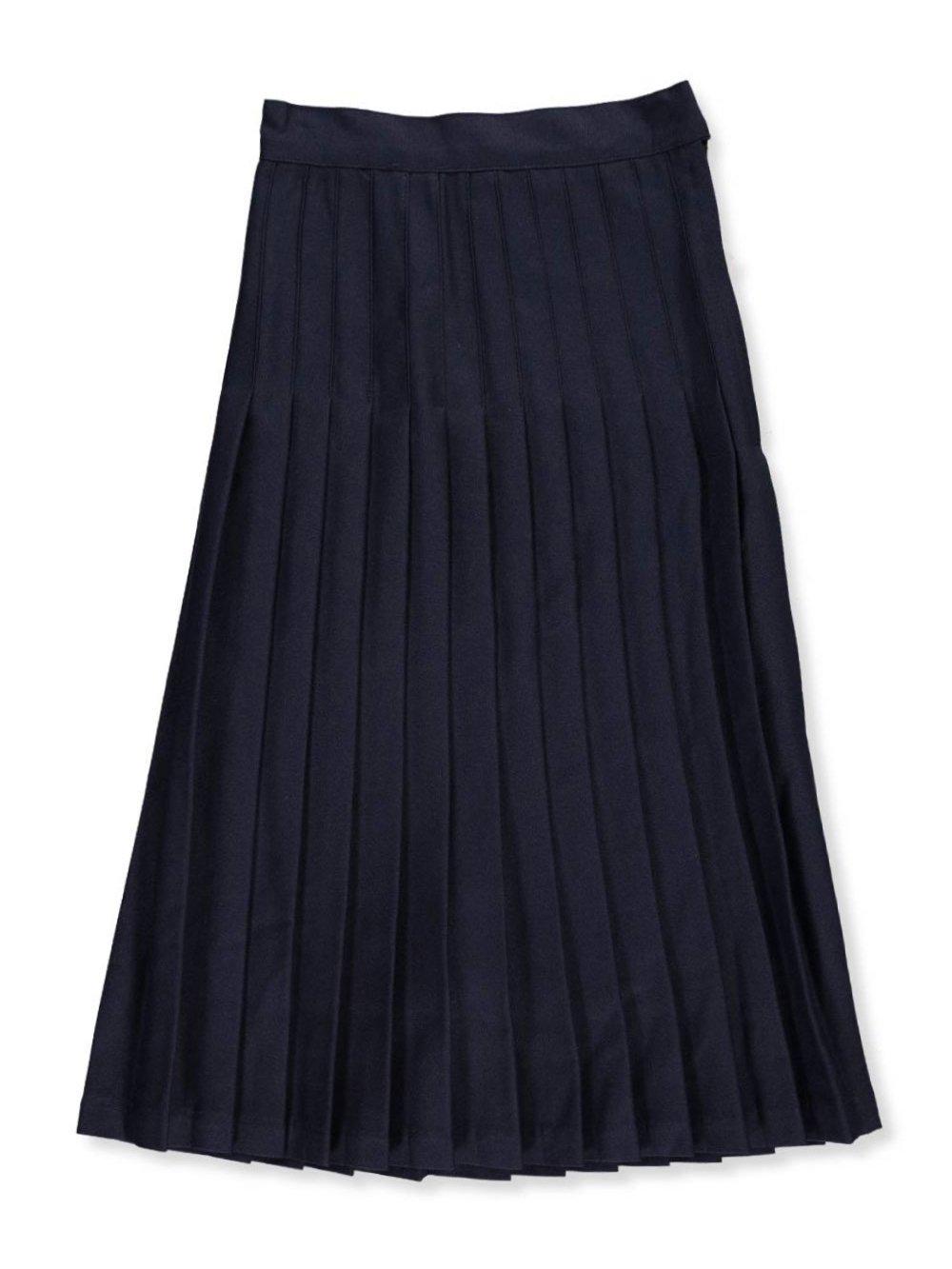 Cookie's Brand Big Girls' Long Pleated Skirt - Navy, 14