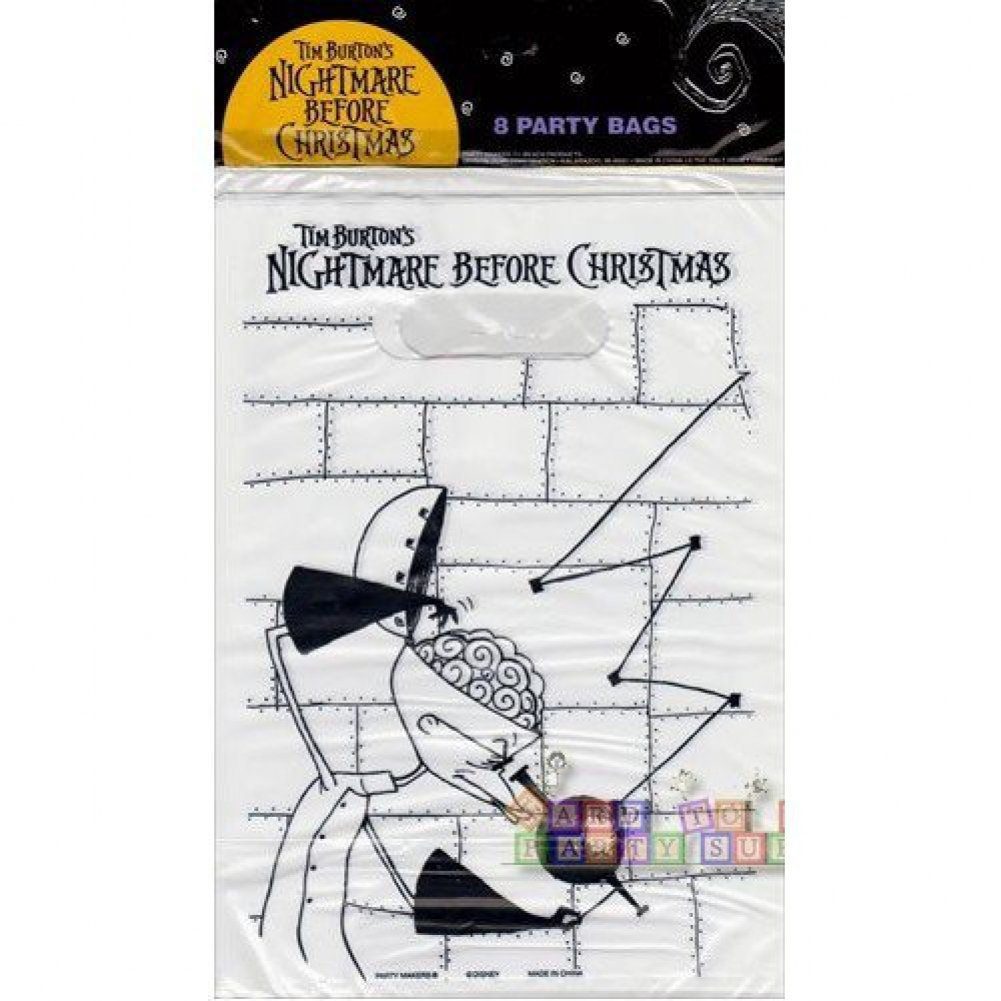 Amazon.com: 24 Nightmare Before Christmas Loot Bags. Great for ...