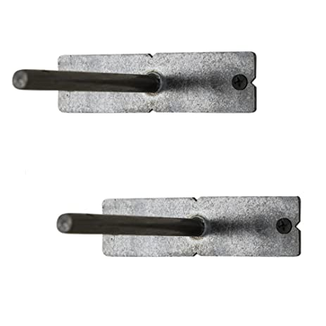 del hutson designs floating shelf brackets set of 2 made in usa