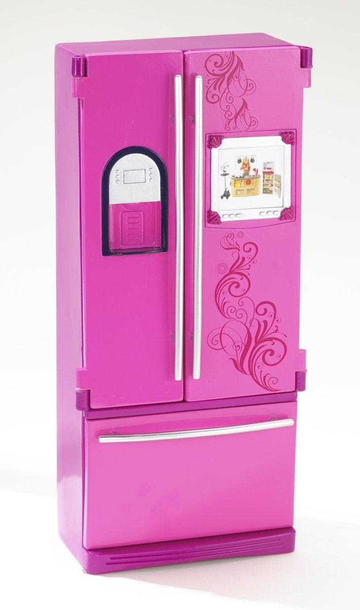 Amazon.com: Barbie Glam Refrigerator: Toys & Games