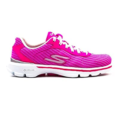 Skechers Women's Go Walk 3 Fit Knit Low-Top Sneakers