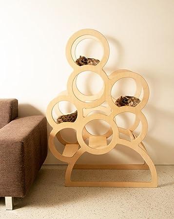 Katzenmöbel designer katzenmöbel quincy höhe 1 35m blumenständer regal