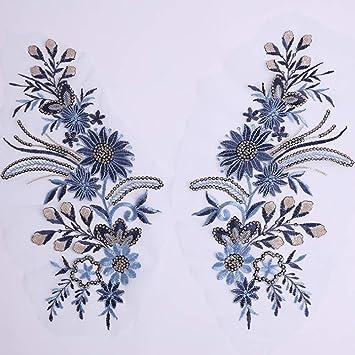 Floral Pattern Lace Collar Set White Sewing Craft DIY 1 pair// 5 pairs