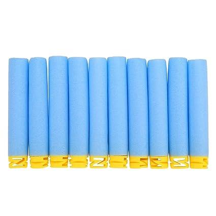 500 pcs Dart Refills Round Head Hollow Foam Bullets For Nerf N-strike Toy Gun