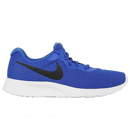 watch 3905b f540d Nike Tanjun, Scarpe da Ginnastica Uomo, Blu (Game Royal/Black/White