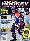 SuperStar Hockey Yearbook 1985/86-Wayne Gretzky Cover Photo