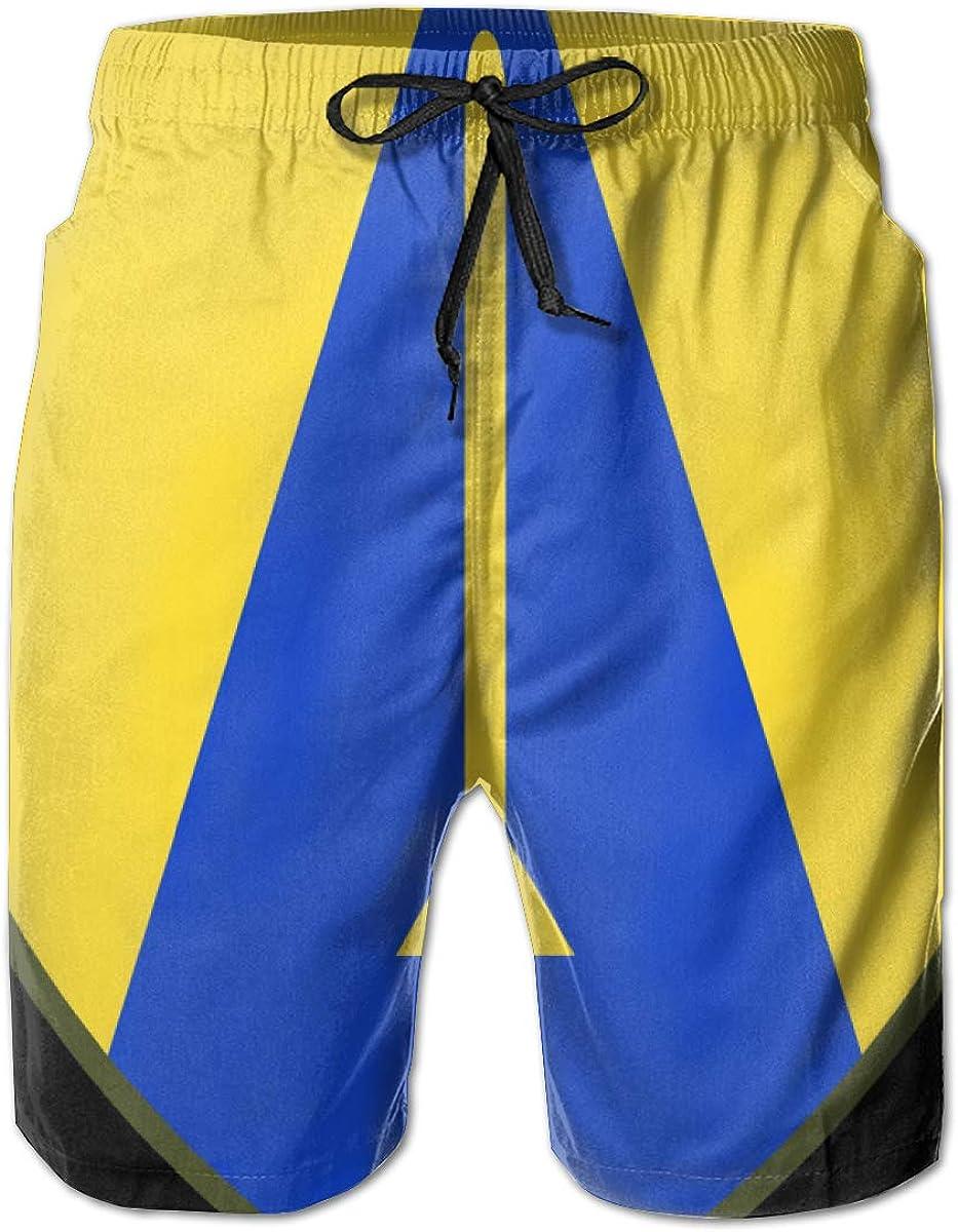QKQ77 KK7 65th Cavalry Division Mens Board Shorts,Casual Shorts,Beach Shorts,Summer Boardshorts