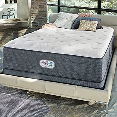 "Beautyrest 700754499-1050 14"" Spring Grove Luxury Firm Mattress, Queen"