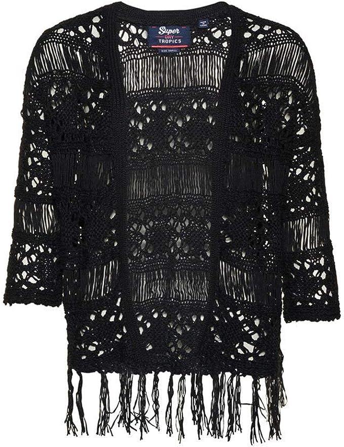 Superdry Womens Willow Crochet Kimono