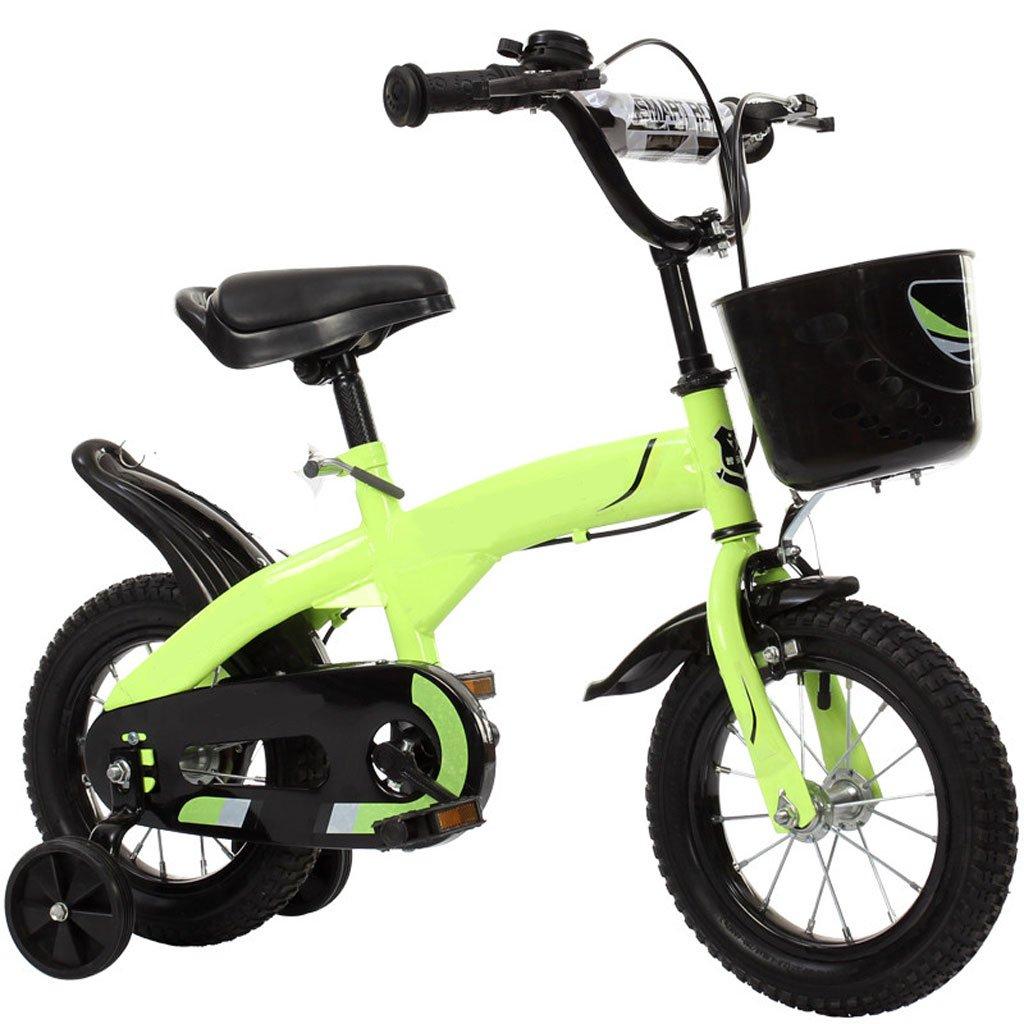 Bicicletta Da Bambino per Bambini 12 14 16 Pollici 2-3-6-8 Anni Bambino Bambina da Bambino Ruota da Allenamento (Misura  14 Pollici)