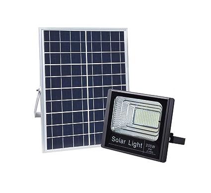 Amazon.com: Luz solar de inundación, 400 ledes 5000 lm 200 W ...
