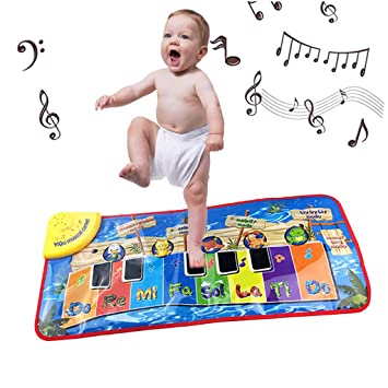 Baby Musical Piano Klaviermatte Musik Teppich Spielzeug
