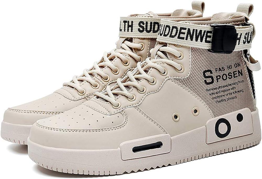 Nuevo Estilo Ofertas Nuevo Zapatillas de Deporte de Moda para Hombre Zapatos cálidos de Invierno Botas de Nieve Zapato Deportivo para Caminar Informal Beige NdXWy7 EHMgaQ 2Bg3aL