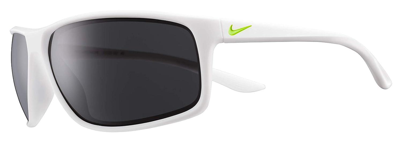 6cdcdb8c4b Amazon.com  Nike Eyewear Men s Nike Adrenaline Rectangular Sunglasses MATTE  WHITE VOLT 66 mm  Clothing
