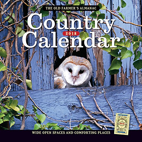 The old farmer 39 s almanac 2018 country calendar import it all for Farmers almanac fishing calendar