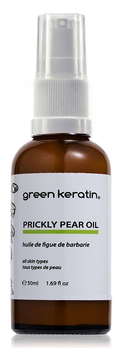 Green Keratin rickly Pear, Olio di semi di fico d'India, 50 ml Prickly Pear Oil 50ml