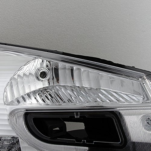 Right Pair set For Chevy Equinox SUV Clear Headlights Headlamps Front Lamps Replacement Left