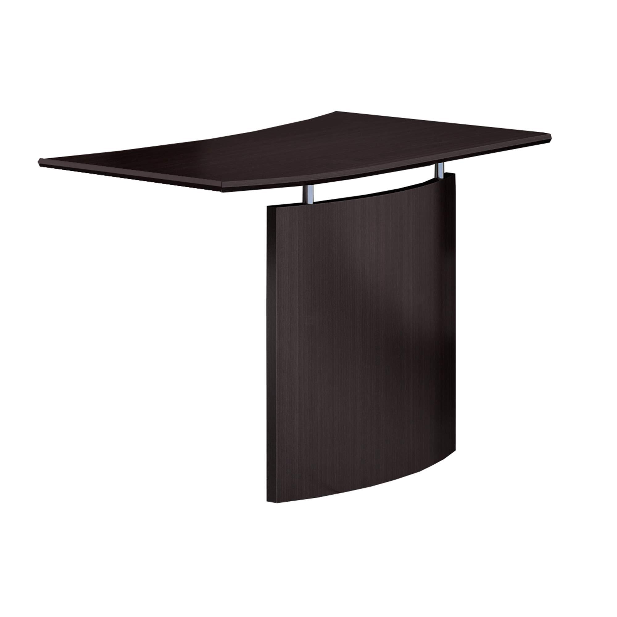 Safco Medina Desk, Mocha Laminate by Safco