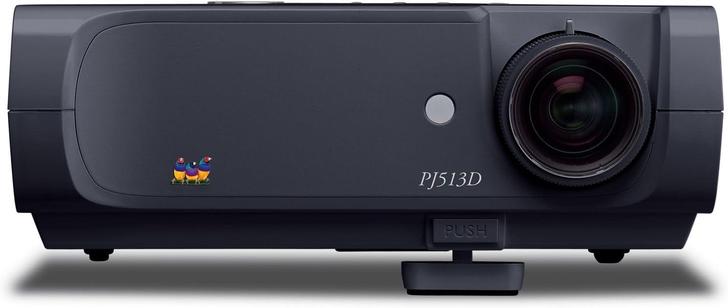 ViewSonic PJD5111 DLP Projector Refurbished 2,500 ANSI HDMI Remote W//Adapter