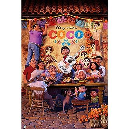 Grupo Erik Editores GPE5213 - Poster con diseño Disney Coco, 61 x 91.5 cm
