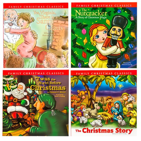 TWAS was The Night Before Christmas Family Christmas Classics Storybooks and The Nutcracker Yes Virginia There is a Santa Claus The Christmas Story (Not Even My Name)