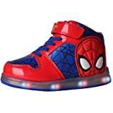 Favorite Characters Boys Marvel Spider-Man Motion Lighted Sneaker (Toddler/Little Kid)