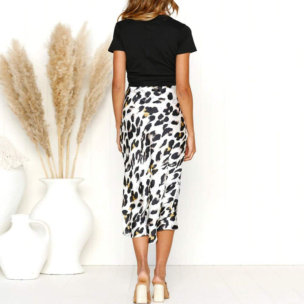 Longra☛☛ La mayoría de Las Mujeres Populares Sexy Leopardo de Inglaterra imprimió el Vestido Partido de la Falda del Partido del Vendaje Atractivo: ...