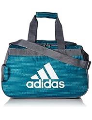 adidas Diablo Duffel Bag, One Size, Energy Aqua Ratio/Onix/Wh...