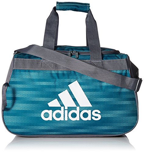 adidas Diablo Small Duffel Bag, Energy Aqua Ratio/Onix/White, One Size