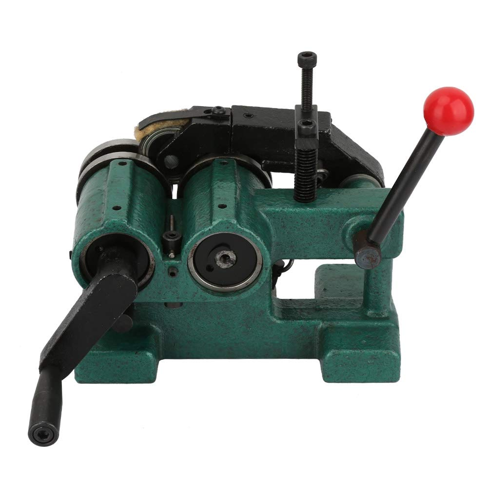 Acogedor Punch Grinder with Pressing Roller, Manual Punch Grinding Machine Precision 5um Punch Grinder,High Precision,Double Roller Design,with Plastic Box by Acogedor (Image #2)