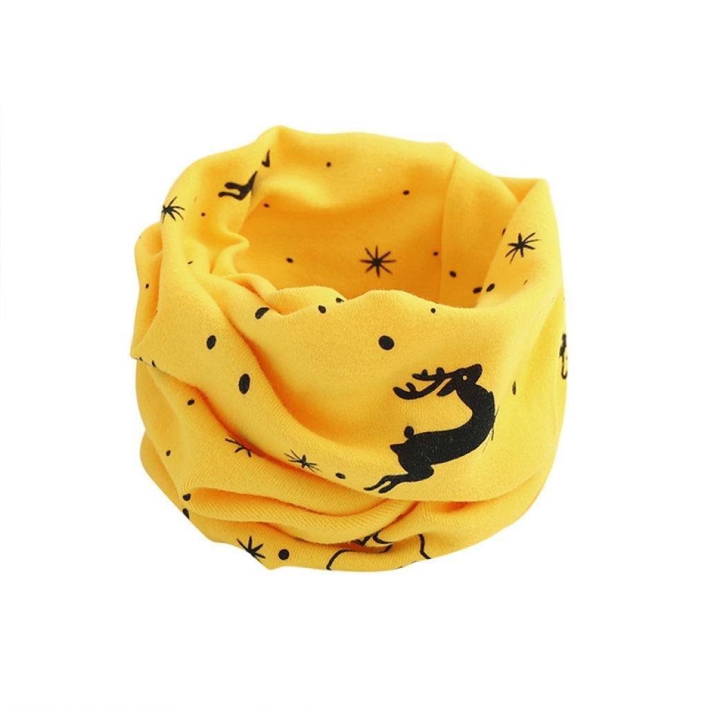 K-youth® Otoño Invierno Navidad Cálida Algodón Pañuelos Niños Niñas Cuello Bufanda del Bebé
