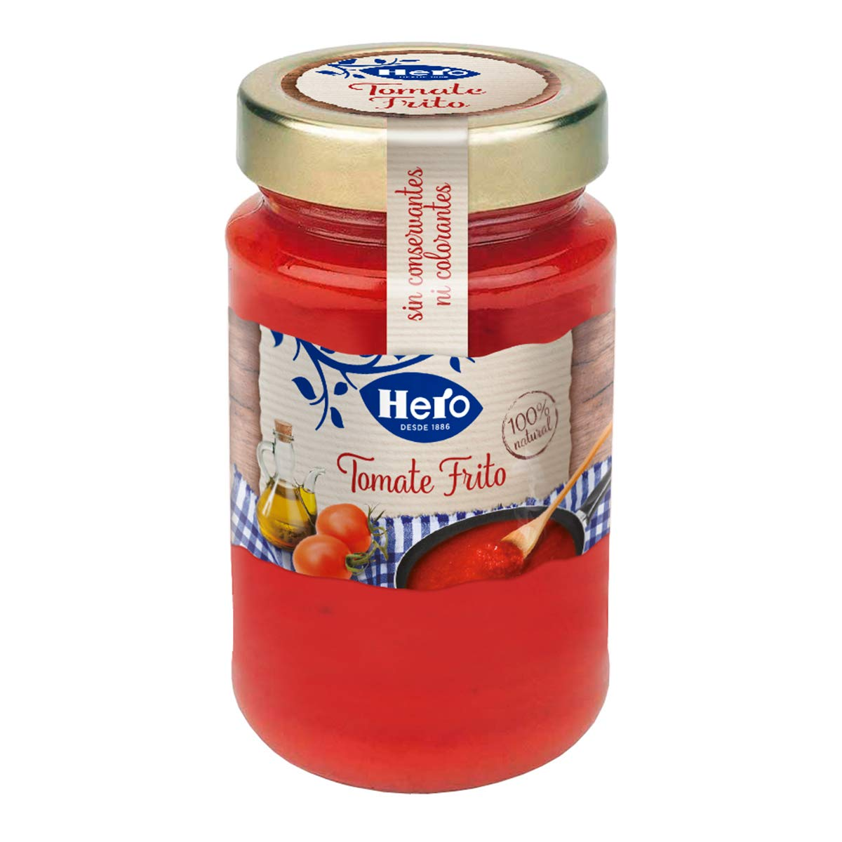 Hero - Tomate Frito - 370 g - [Pack de 8]: Amazon.es ...