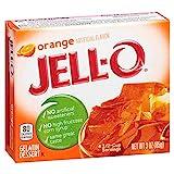 Jell-O Orange Gelatin Mix 3 Ounce Box
