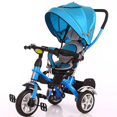 LZTET Carrito para Bebés Carrito para Bebés De Acero Al Carbono 1-3-6