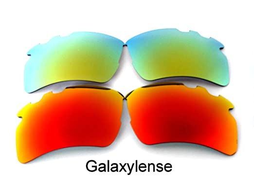 344d0e5b34 Galaxy Replacement Lens For Oakley Flak 2.0 XL Vented Sunglasses Red Gold  Polarized