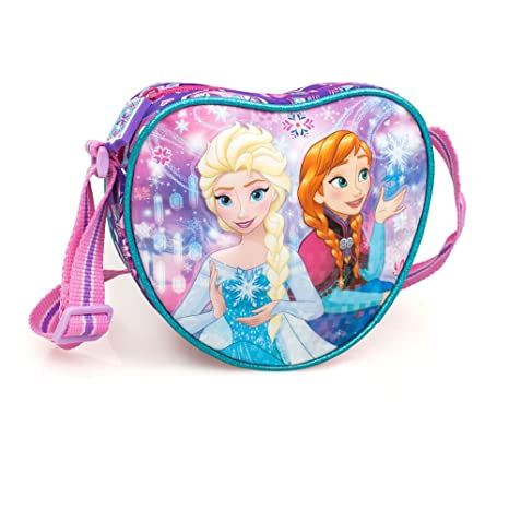 319dddbad4 Borsetta a Tracolla DISNEY FROZEN Forma di CUORE: Amazon.it: Giochi ...