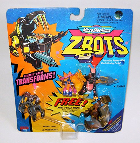 Micro Machines ZBots (Z-bots) Bitebots 3 Pack #24 for sale  Delivered anywhere in USA