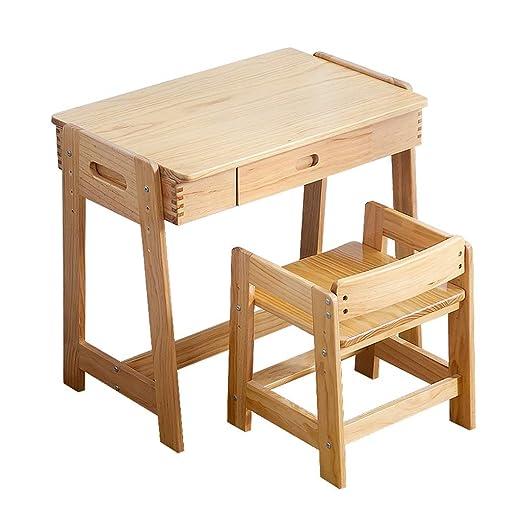 Juegos de mesas y sillas Mesa de estudio y silla Escritorio y ...