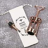 Wing Corkscrew Wine Bottle Opener Godmorn Rose Gold