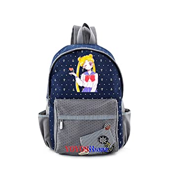 853516be71b3 Amazon.com: YOYOSHome Anime Sailor Moon Cosplay Canvas Daypack ...