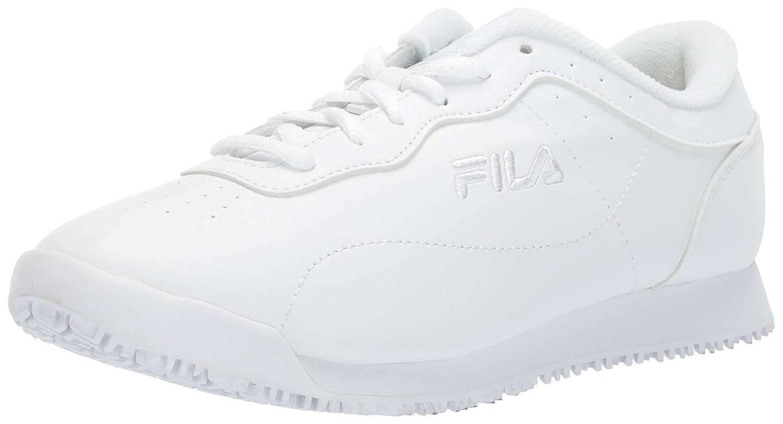 e68a263911 Fila Women's Memory Viable Slip Resistant Work Shoe Food Service