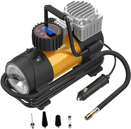 Trehai Manómetro Digital Medidor de Presión de Neumáticos - 200PSI ...