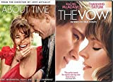 The Vow + About Time Romance Movies DVD Set Rachel McAdams Double Feature Love Twice as Much