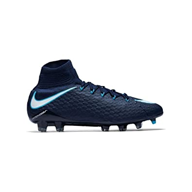 026c4d3c82 Nike Hypervenom Phatal III Dynamic Fit FG - 852554414 - Color Navy Blue -  Size: