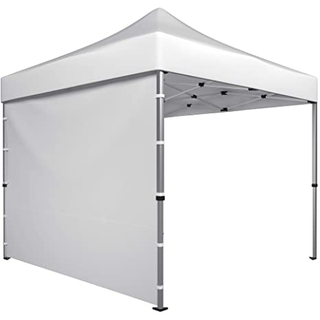 new york dbfb0 e5ca2 Canopy Sidewalls for 10x10 Tent - Sunwall Privacy Screen for Pop Up Tent or  Gazebo Shelter - Outdoor Side Sun Shade Panel - 1 x White Sidewall 120x86