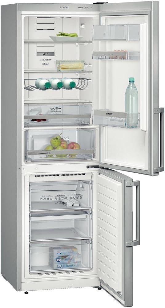Siemens KG36NXL30 congeladora - Frigorífico (Independiente, Acero inoxidable, Derecho, 320L, 349L, SN, ST, T): Amazon.es: Hogar